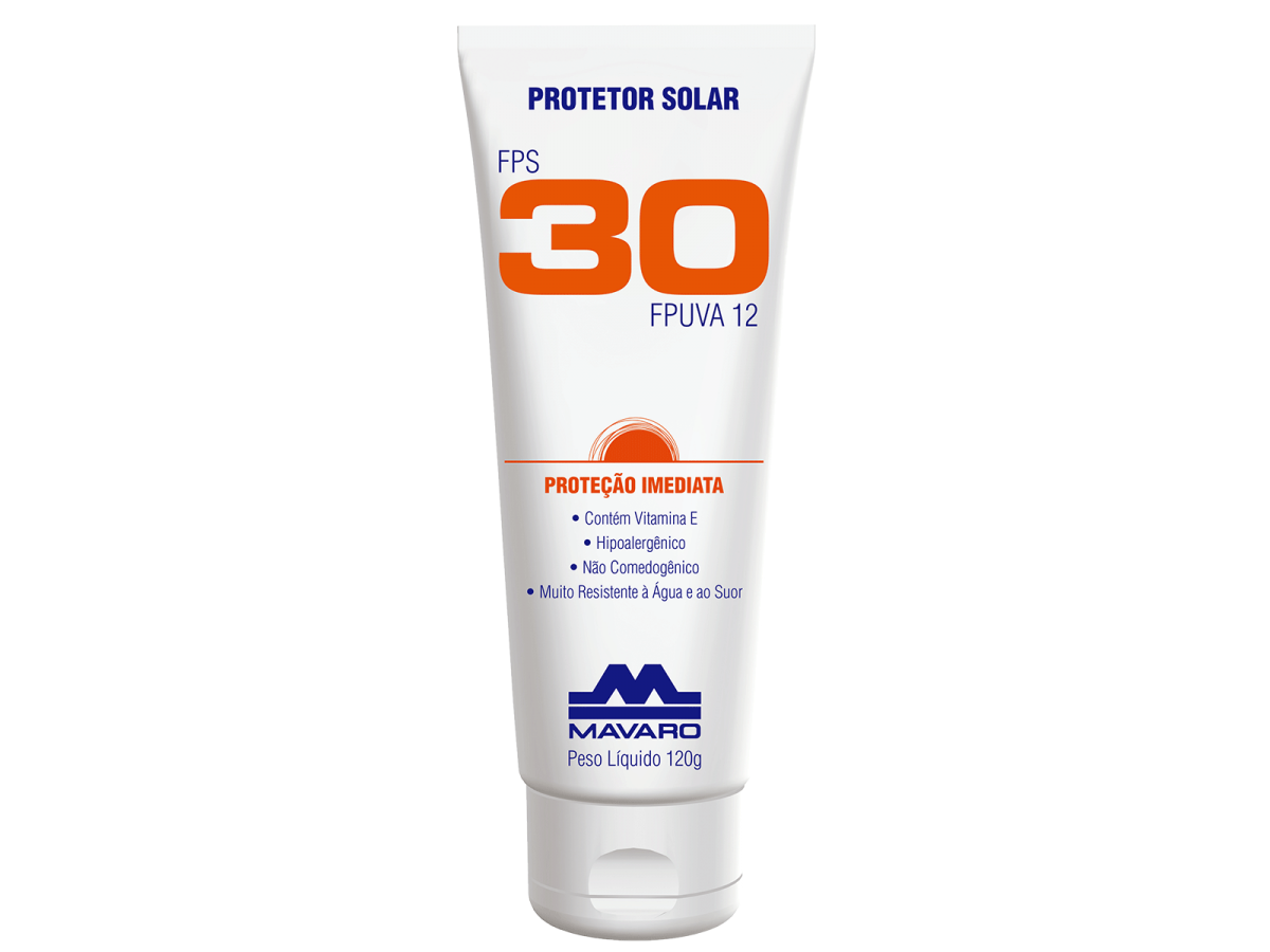 Protetor Solar Fps30 120gr Mavaro