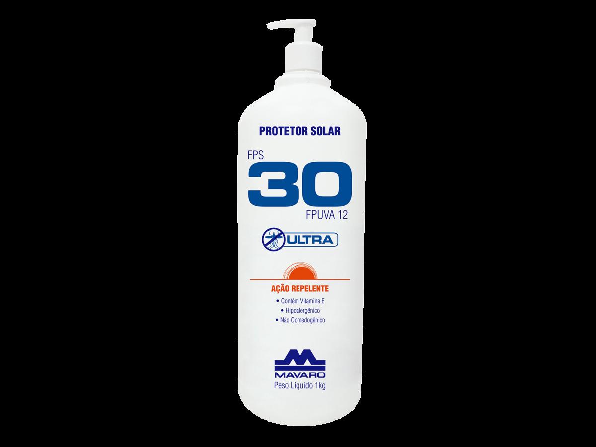 Protetor Solar Fps30 C/ Repelente 1kg Mavaro