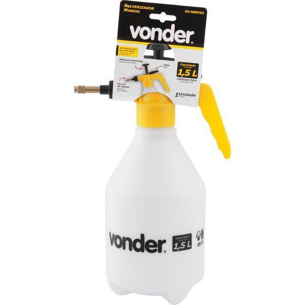 Pulverizador Manual 1,5l C/ Compressão Prévia Vonder