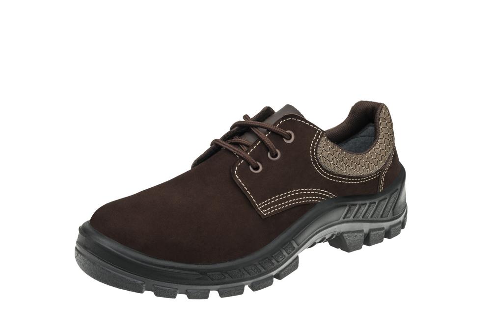 Sapato 50S29 Café Bico Plástico Marluvas