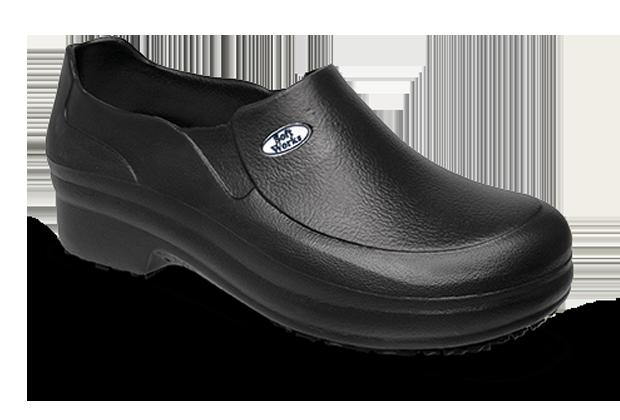 Sapato Antiderrapante BB65 Preto Soft Works