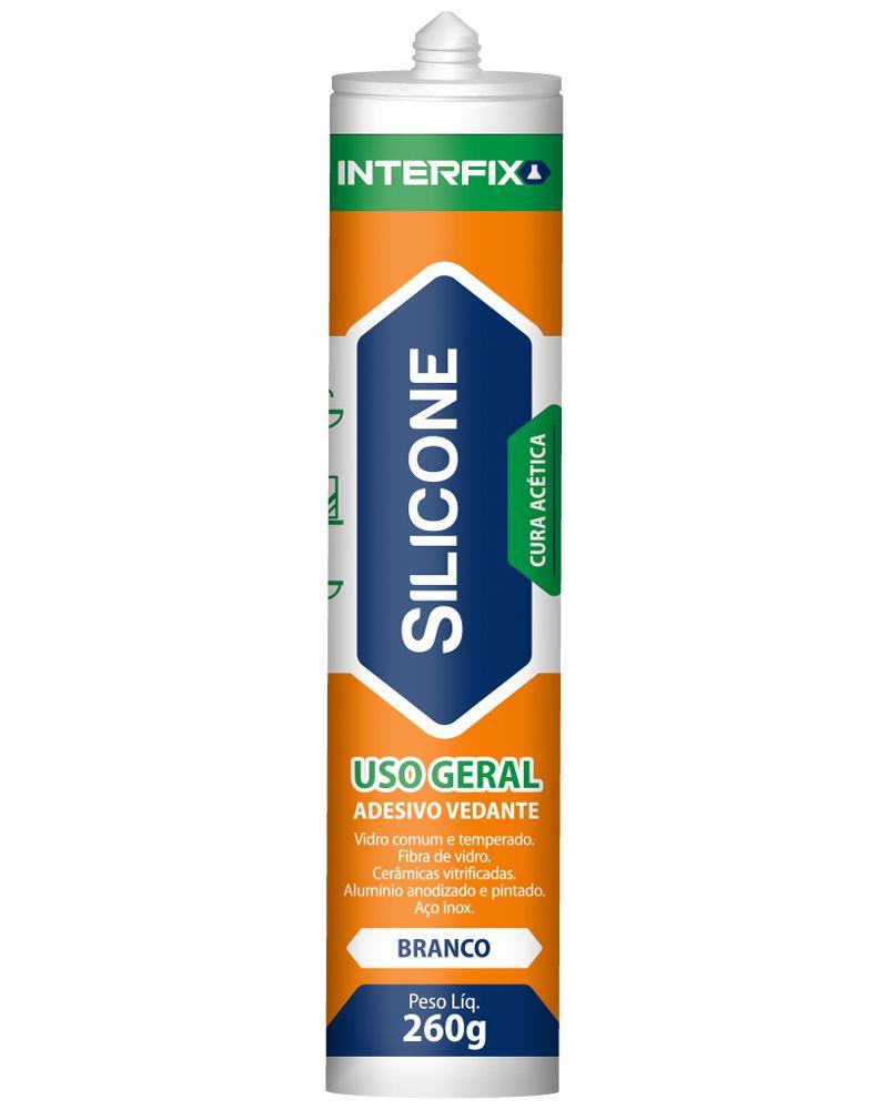 Silicone Interfix Uso Geral Incolor 260g