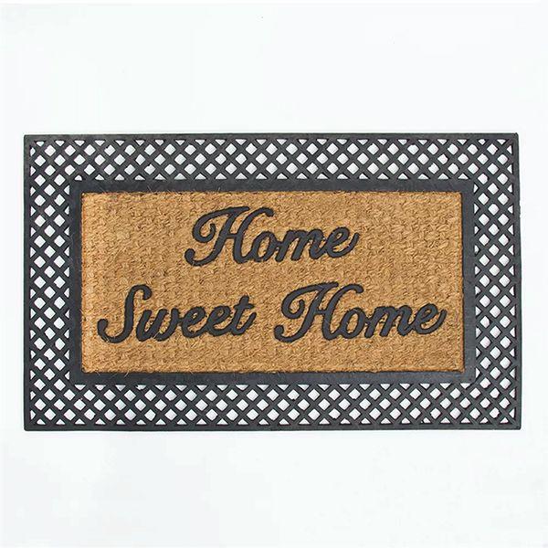 Tapete Capacho Fibra De Coco Home Sweet Home 45cmx75cm Kapazi