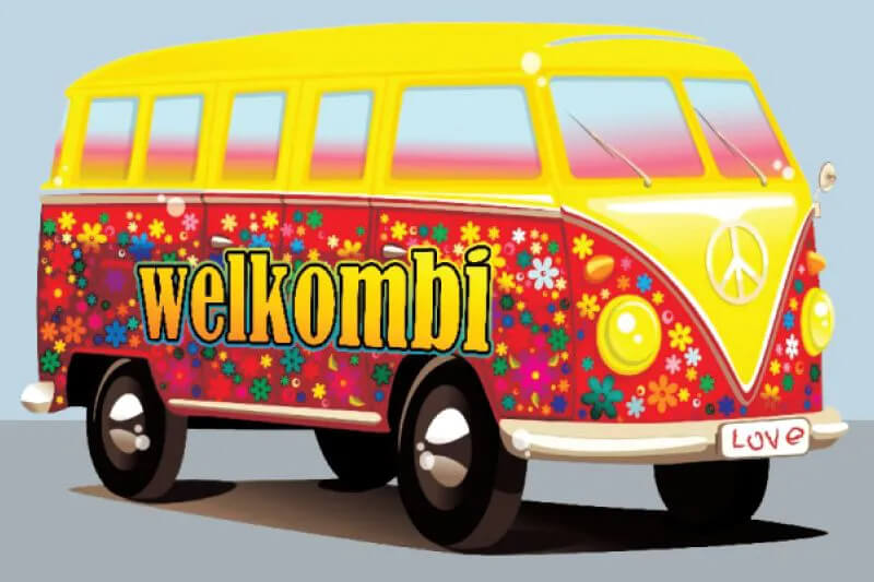 Tapete Capacho Welkombi 60cm X 40cm Kapazi