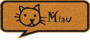 Tapete Vinil Formas Miau 70cm X 30cm Kapazi