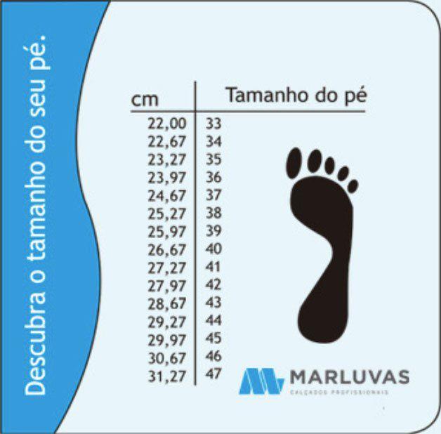 Tênis 95S29A Preto Bico Aço Marluvas