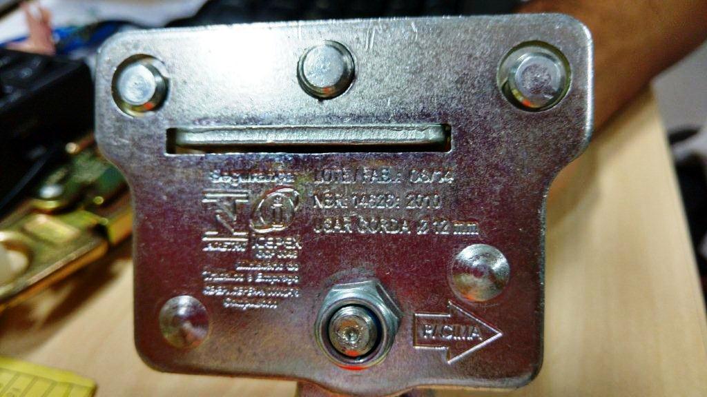 Trava Quedas Para Corda De 12mm