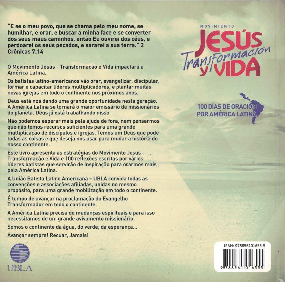 100 dias de oração pela América Latina - Português