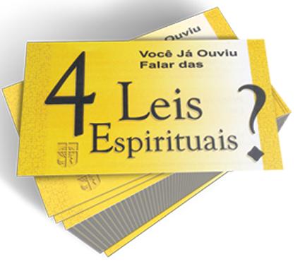 Quatro leis espirituais, Folheto