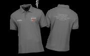 Camisa Polo Multiplicando o amor de Deus - Cinza
