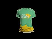 Camisa Avançar e multiplicar, unidos - Verde