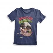 Camisa Jesus Cristo é a única esperança - Azul Marinho - Para líder de crianças - Haverá reposição!