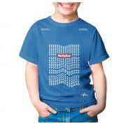 Camisa Minha razão de viver - Azul - Infantil