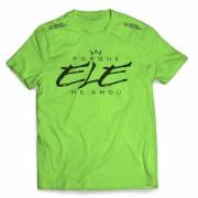Camisa Porque Ele Me Amou - Horizontal - Verde