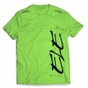 Camisa Porque Ele Me Amou - Vertical - Verde