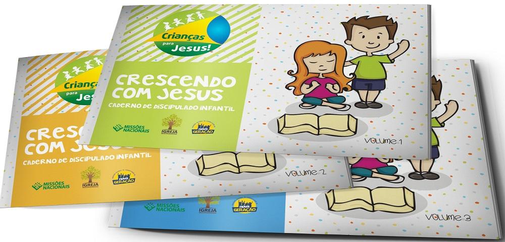 Kit Crescendo com Jesus - Vol. 1,2 e 3