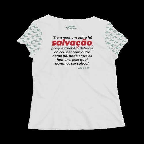 Camisa Jesus Cristo é a única esperança - Branca - Feminina