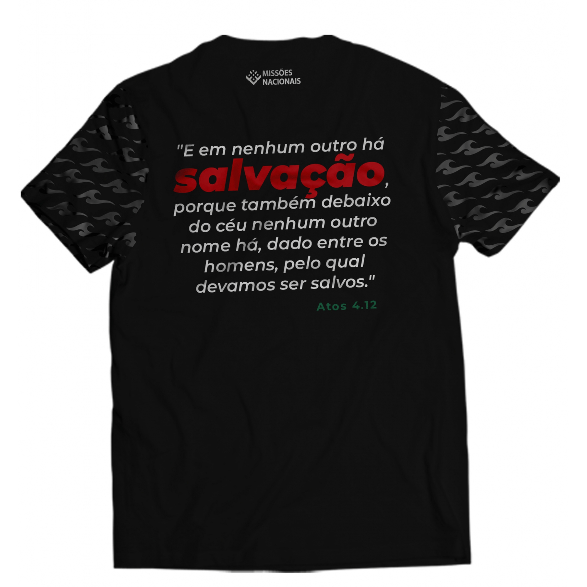 Camisa Jesus Cristo é a única esperança - Preta