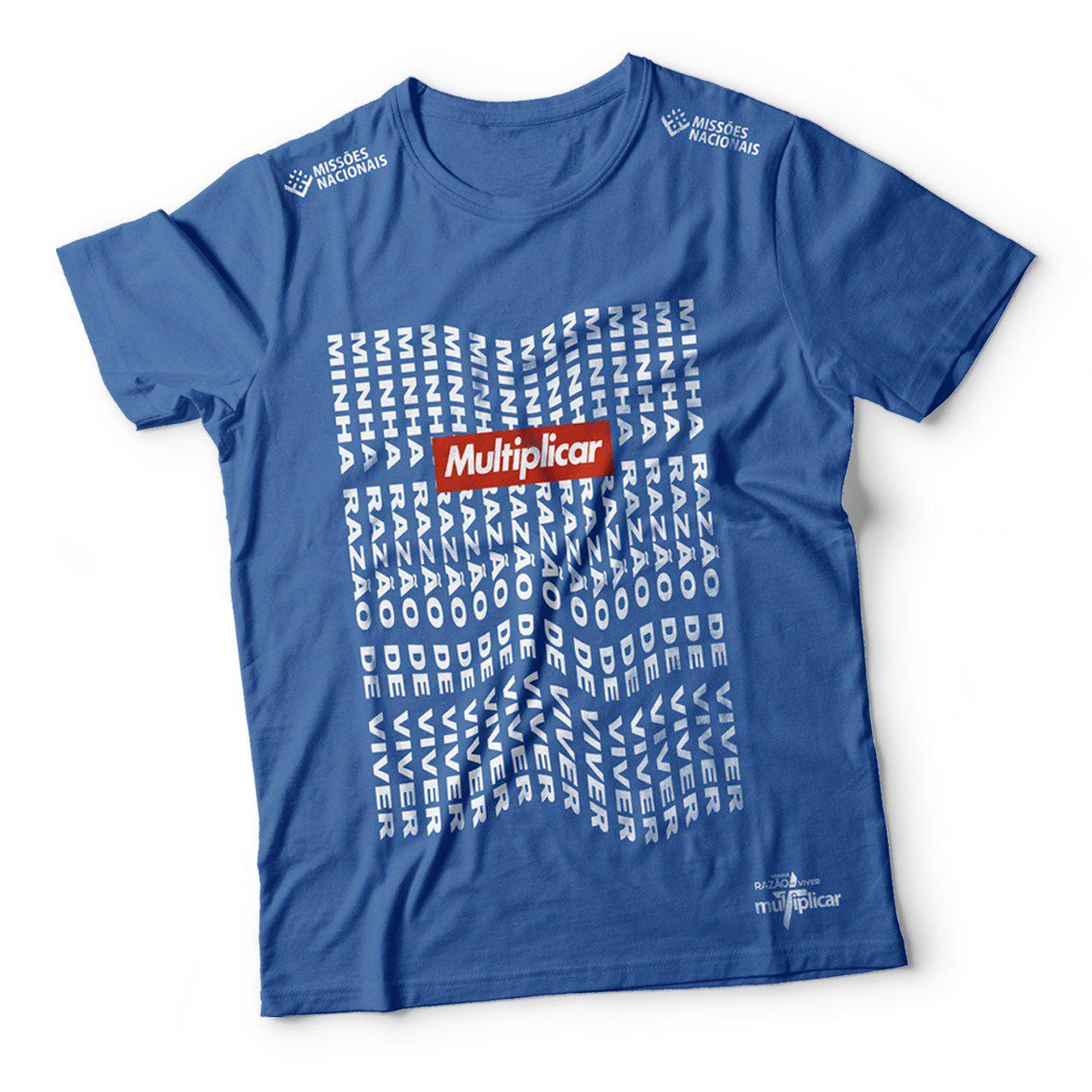 Camisa Minha razão de viver - Azul