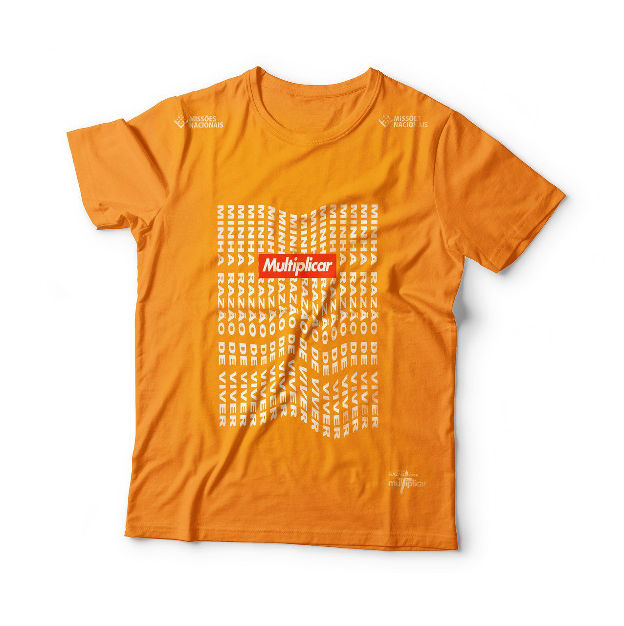 Camisa Minha razão de viver - Laranja