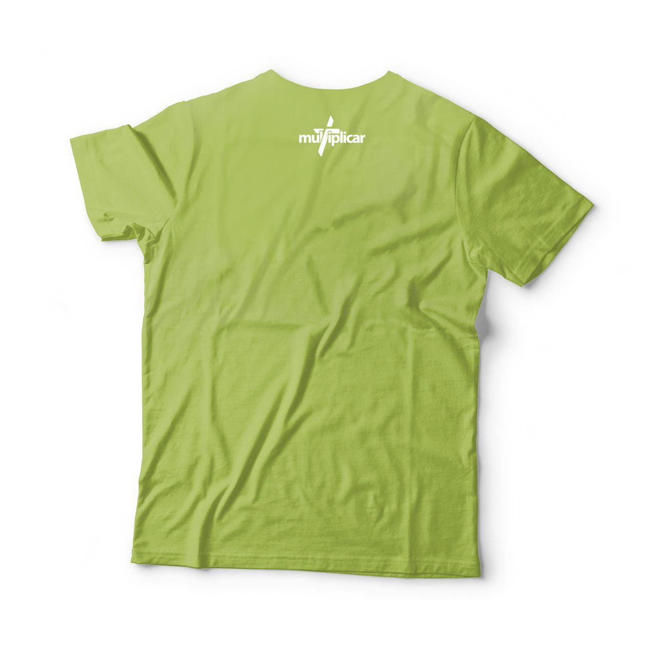Camisa Minha razão de viver - Verde
