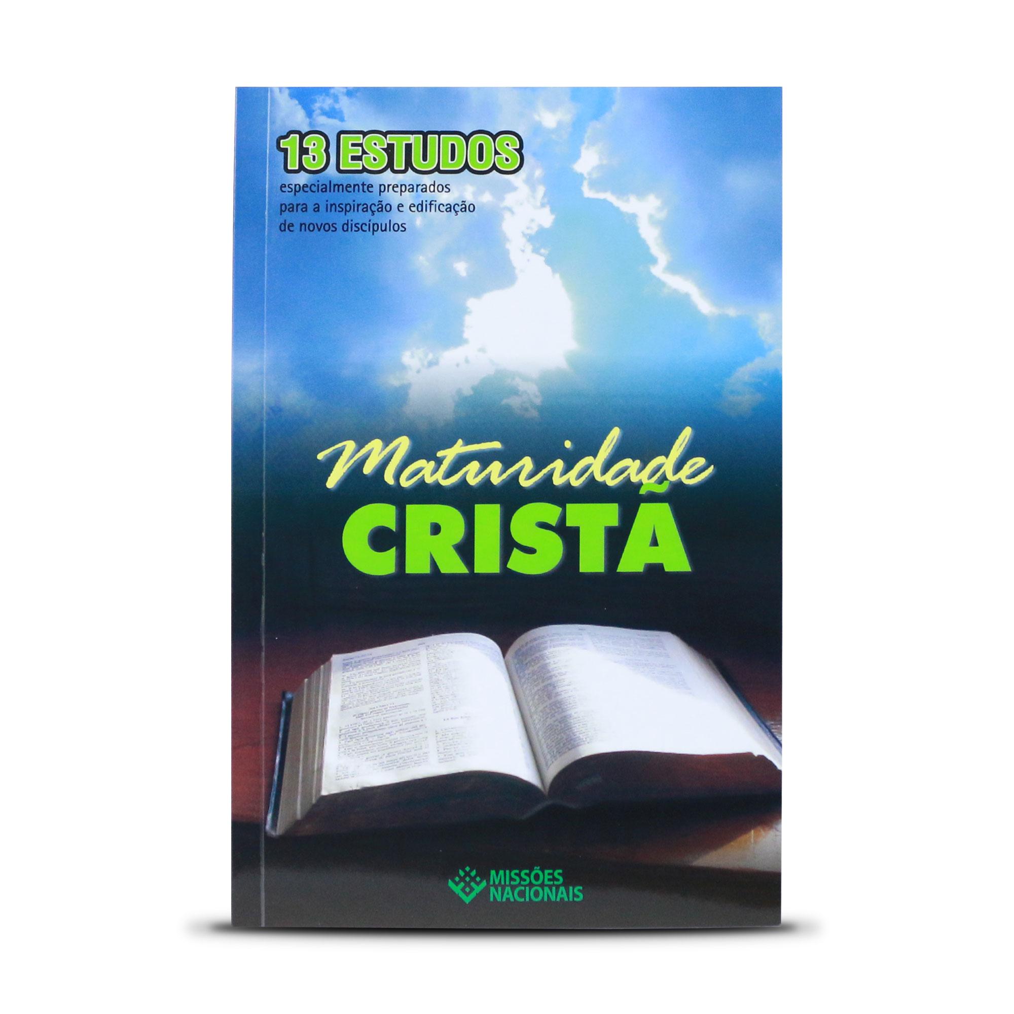 E-book - Maturidade cristã - (Produto Digital)