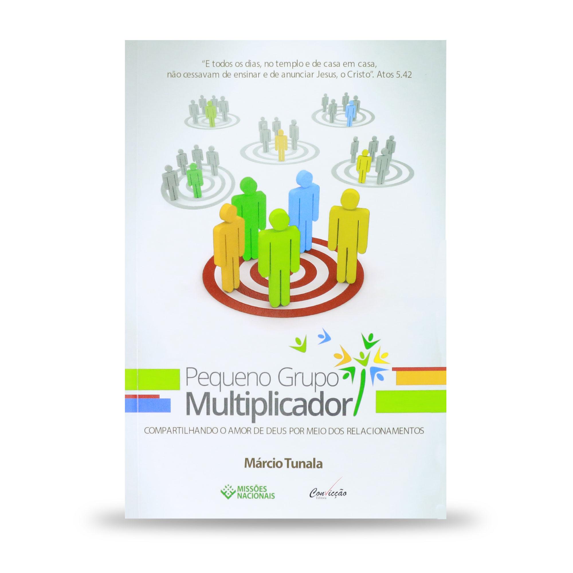 E-book - Pequeno grupo multiplicador - (Produto Digital)