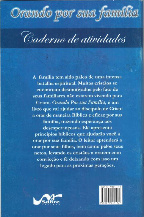 Kit - Orando por sua família (Livro e caderno de atividades)