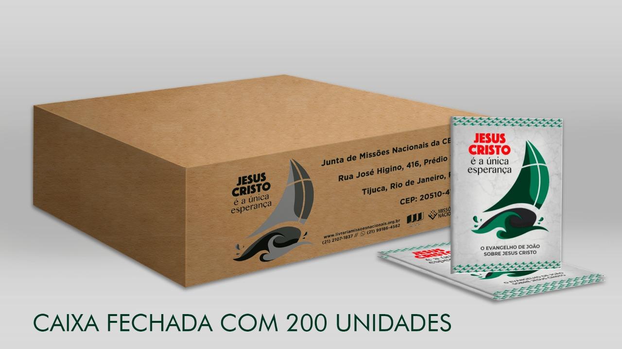 Caixa Fechada - Evangelho de João - Semana Nacional Evangelização - 200 unid. / caixa