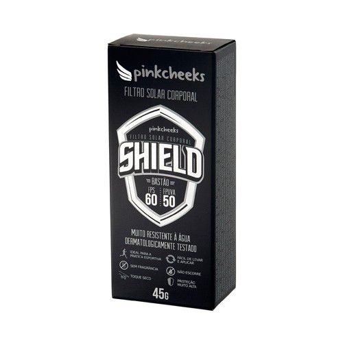 Pinkcheeks Filtro Solar Corporal Shield Bastão Fps60 45g