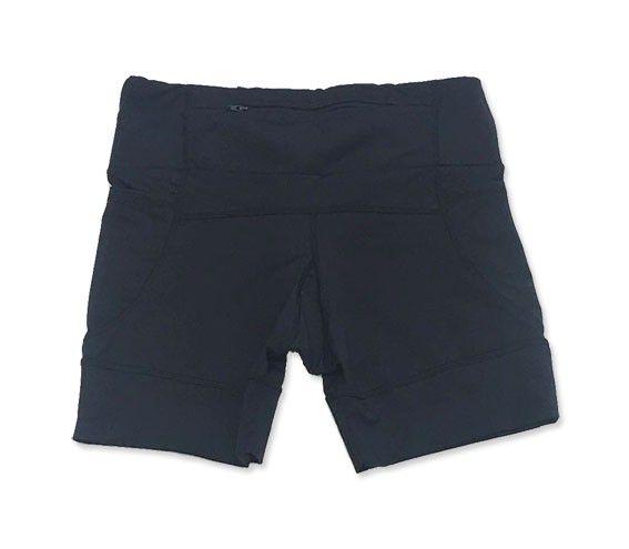 PRÉ-VENDA Shorts de compressão 1500 bolsos em compress preto   - Vivian Bógus