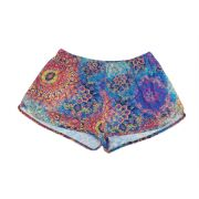 Shorts soltinho estampado mandala