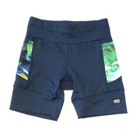Bermuda de compressão masculina - unissex 1500 bolsos em compress azul marinho bolsos Brasil