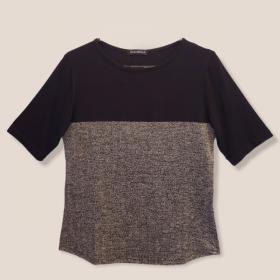 Blusa Confort bicolor