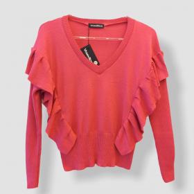 Blusa Etiene com babado pink