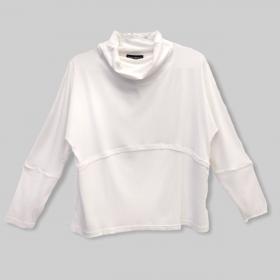 Blusa Ligia branca canelada