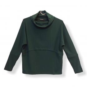 Blusa Ligia verde canelada