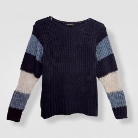 Blusa Morgot listrada tricot