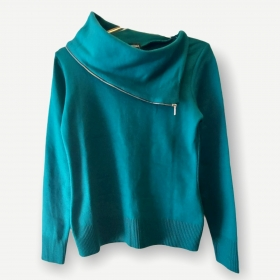Blusa Fernanda verde tricot