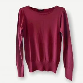 Blusa Luciana vinho tricot