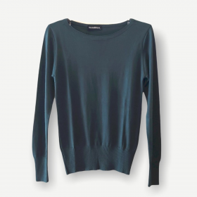 Blusa Luciana verde tricot
