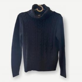 Blusa Rebeca preta tricot
