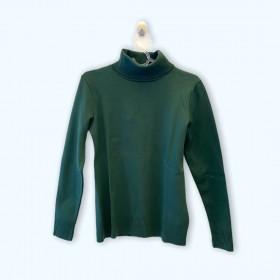 Blusa tricô gola alta stretch (cores)