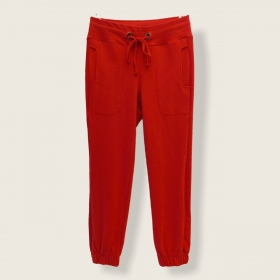Calça Confort jogger vermelha