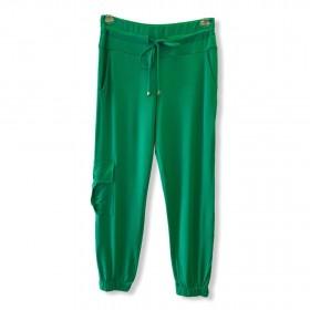 Calça Jogger em malha verde
