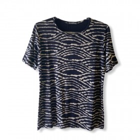 Camiseta estampa animal print