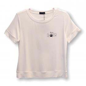 Camiseta moletinho Dog