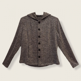 Casaco Confort em tweed
