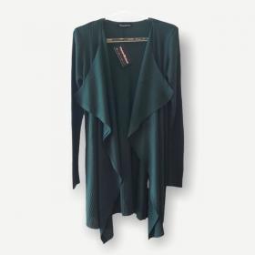 Casaco Marcela verde tricot
