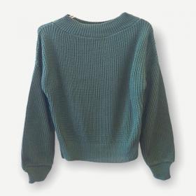 Blusa Juliana verde tricot